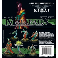malifaux/resurrectionists - spirits of vengeance