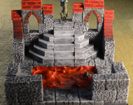 Gothic - Stair Room - Lava